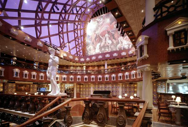 Cruise Ships Interior Decor Malcolm Olivers WaterWorld - Inside of cruise ships pictures