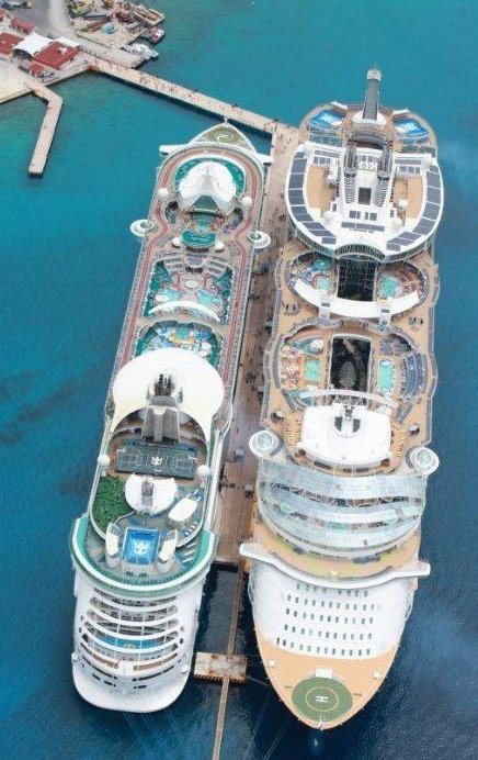 Allure of the seas: World's largest cruise ship - SkyscraperCity