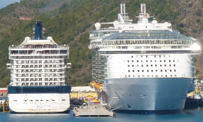 Biggest Cruise Ship  Malcolm Oliver39s Cruiseblog