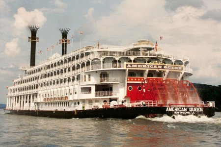 American Queen: the biggest, carrying 436 passengers