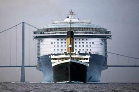 (Titanic II followed by Oasis)