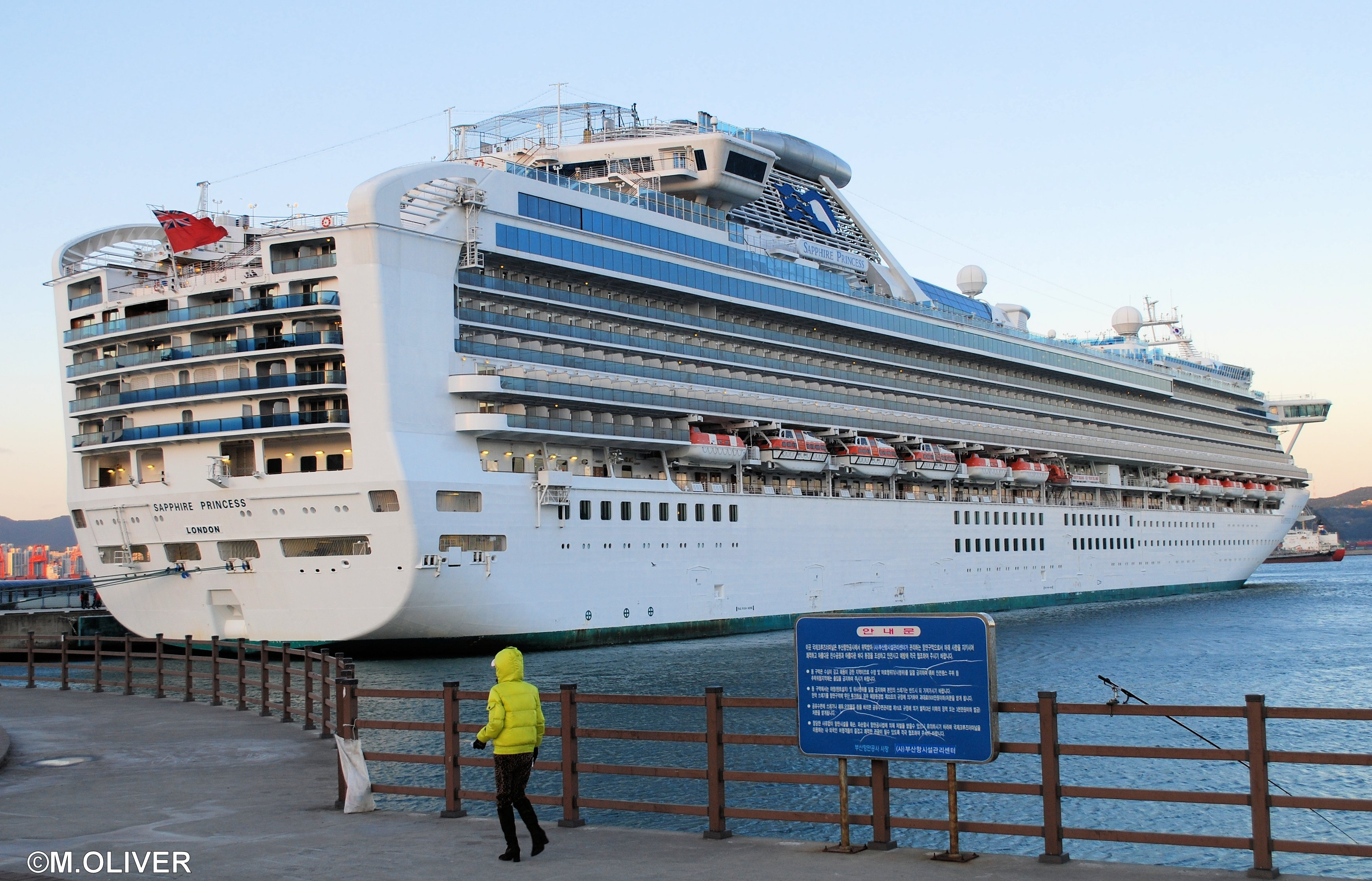 Sapphire Princess Review Malcolm Olivers WaterWorld