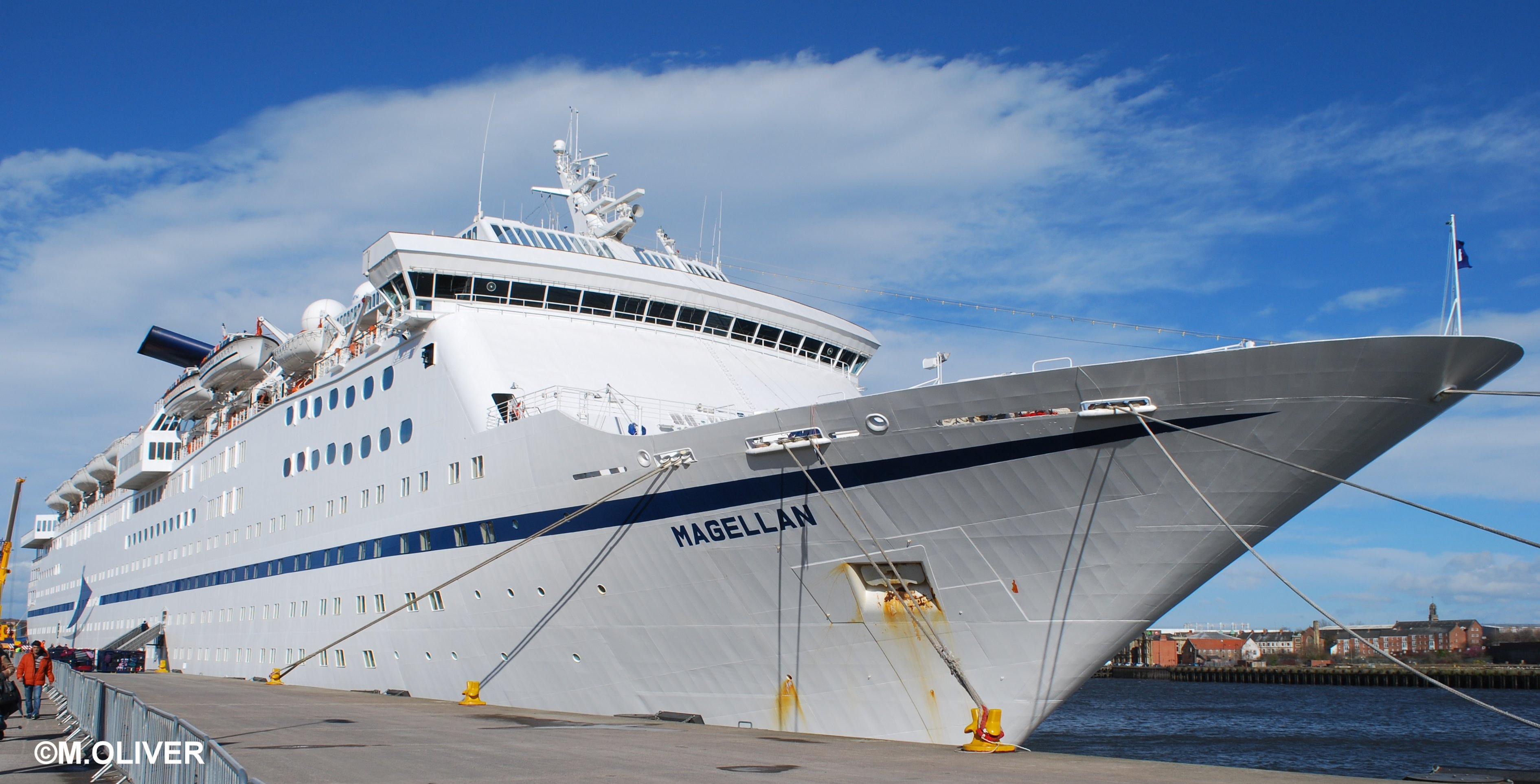 Cruise itinerary reviews -  Magellan Newcastle 03 15