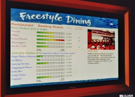 NCL's 'Freestyle' Dining