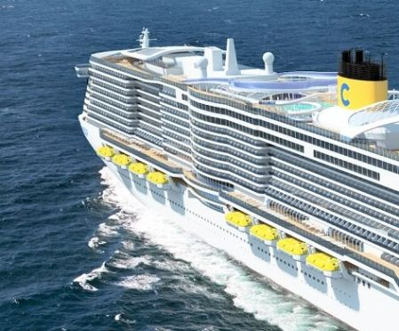Costa 180,000gt Ship