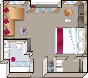 Balcony Suite (Courtesy of Luftner)