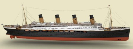 Titanic II (Blue Star Line - click to enlarge)
