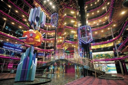 Carnival Sensation Atrium by J. Farcus (Courtesy Carnival)