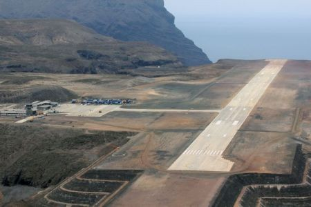 St Helena's troubled new airport cost £285million of taxpayers' money (Photo: PA)